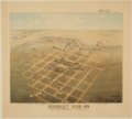 Bird's Eye View of Kinsley, Edwards County, Kansas