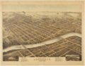 Bird's eye view of Lawrence, Kansas