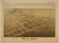 Bird's Eye View of Great Bend, Barton County, Kansas