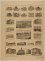 Views of business, industrial, and residential buildings in Clay Center, Kansas, Summer of 1887