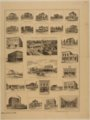 Views of business, industrial, and residential buildings in Clay Center, Kansas, Summer of 1887 - 2