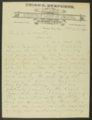 Frank H. Belton letter to Governor John Martin - 1