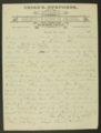 Frank H. Belton letter to Governor John Martin - 2