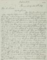 Mark W. Delahay to Abraham Lincoln - 1