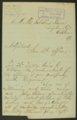 Charles Miller to Kansas Adjutant General - 1
