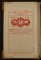 Kansas State Temperance Union legal documents - Inside Front Cover