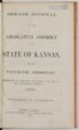 """Speech about """"King Slavery,"""" by Daniel H. Horne - Title Page"""