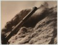John Wesley McManigal photographs - Photograph showing wheat straw blown in a pile.