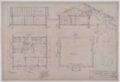 Drawings of Atchison, Topeka & Santa Fe Railway's emergency hospital for shop employees at San Bernardino, California - 1
