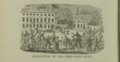 Proslavery forces readying to destroy the Free State Hotel in Lawrence, Kansas - 1