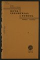Biennial report of the Boys Industrial School, 1934 - Front Cover