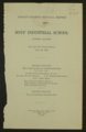 Biennial report of the Boys Industrial School, 1936 - 1