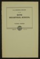 Biennial report of the Boys Industrial School, 1942