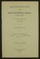 Biennial report of the Boys Industrial School, 1942 - 3