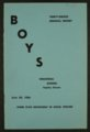 Biennial report of the Boys Industrial School, 1956 - Front Cover