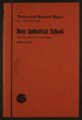 Biennial report of the Boys Industrial School, 1958 - Front Cover