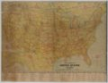 Excelsior Series Map of United States and Alaska - 4