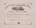 Otis Potter diploma