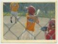 Gavin Berberich playing baseball - Batting for Auburn youth team.
