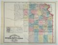 Mitchell's Sectional Map of Kansas