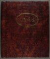 Ray Etzel baseball scrapbook - 1 [Front Cover]