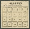 Official State Atlas of Kansas - Allison, Decatur County