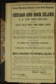 William N. Byers, Handbook to the Gold Fields of Nebraska and Kansas - Chicago & Rock Island advertisement