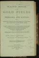 William N. Byers, Handbook to the Gold Fields of Nebraska and Kansas - 1