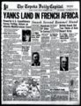 Yanks Land in French Africa