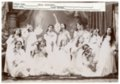Gus Meier photograph collection - Group of Alma school girls in theatrical performance.