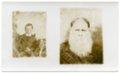 Harris family of Harveyville, Kansas - Side-by-side photographs of Samuel Murrell Harris.