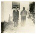 Harris family of Harveyville, Kansas - Photograph of Sam Harris and J.V. Thompson.