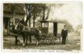 Dairy wagon in McFarland, Kansas