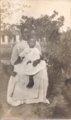 Frances Johnson Gayden and Virginia Gayden in Dunlap, Kansas