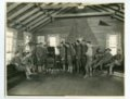 Interior view of soliders at the Y.M.C.A. at Camp Funston - 1