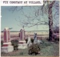Fix Cemetery, Volland, Kansas