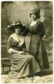 Pauline Mathies and Emma Blanc