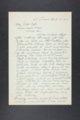 Robert Taft correspondence related to frontier artists, Adams - Blakelock - 8