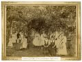 Picnic in Liederkranz Park in Alma, Kansas - 1