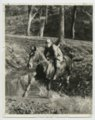 Governor Alfred Mossman Landon riding a horse - 1