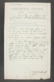 Livestock Sanitary Commissioner's Office, correspondence, 1898-1915 - 6
