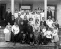 Evans-King family in Kinsley, Kansas - 1