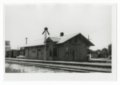 Atchison, Topeka and Santa Fe Railway Company depot, Pawnee Rock, Kansas