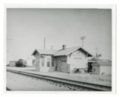 Atchison, Topeka and Santa Fe Railway Company depot, Mayfield, Kansas.