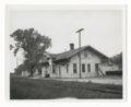 Atchison, Topeka & Santa Fe Railway Company depot, Gridley, Kansas - 1