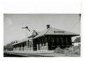 Atchison, Topeka & Santa Fe Railway Company depot, Ellinwood, Kansas - 1