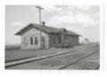 Atchison, Topeka & Santa Fe Railway Company depot, Galatia, Kansas - 1