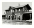Atchison, Topeka and Santa Fe Railway Company depot, Albuquerque, New Mexico - 1