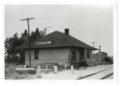 Atchison, Topeka and Santa Fe Railway Company depot, Westfall, Kansas