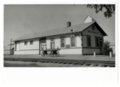 Atchison, Topeka and Santa Fe Railway Company depot, Miltonvale, Kansas